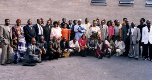 1st NDCA members group pictures in 2002 Inaugural Convention in NY